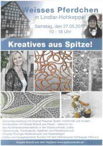 Kreatives aus Spitze 27.05.2017